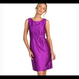Kate Spade Mademoiselle Dress Purple Size 8